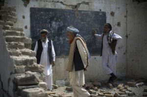 school destroyed in nangarhar 300x198