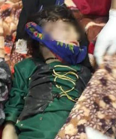 samia nine year old wife killed by husband badghis afghanistan