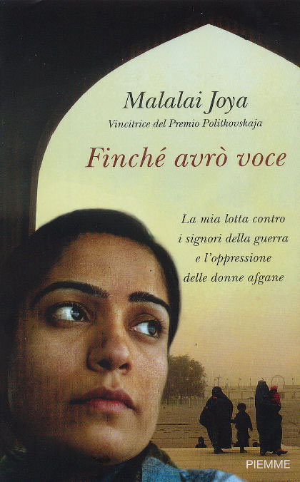 Finché avrò voce: intervista a Malalai Joya