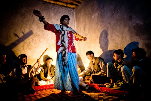 afghan dancing boy
