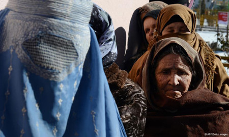 afghan widows for food