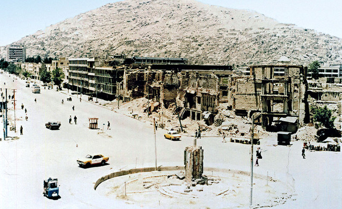 kabul during civial war of fundamentalists 1992 6