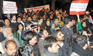 989 pakistan civil society protest in front of lal masjid 300x180