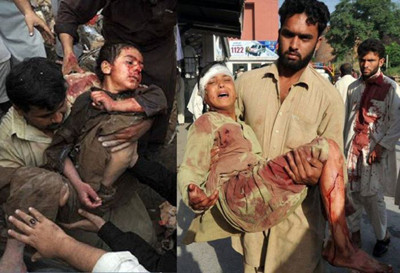 drone strike victims in pakistan children
