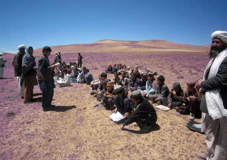 ghor school no building