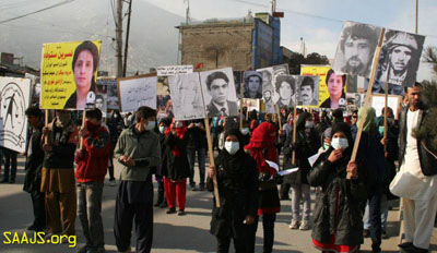 protest saajs for martyrs
