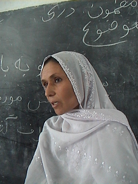 Afghan teacher
