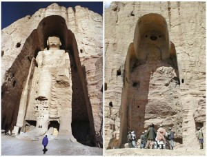 bamyan buddha before after taliban attack 300x228