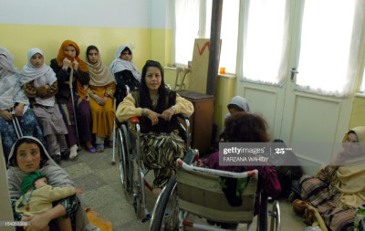 disabled afghan women icrc